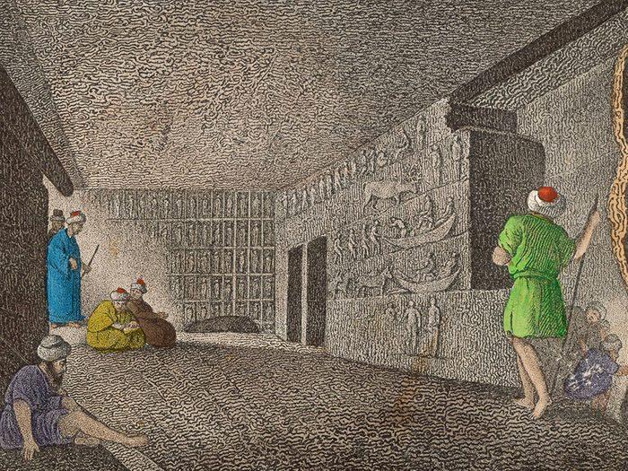 Les mystères des pyramides égyptiennes.