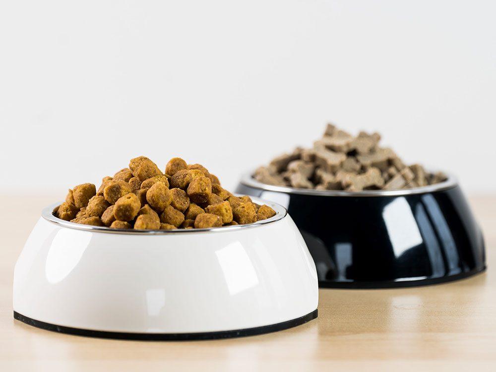 Attention au propylène glycol dans la nourriture pour animaux.