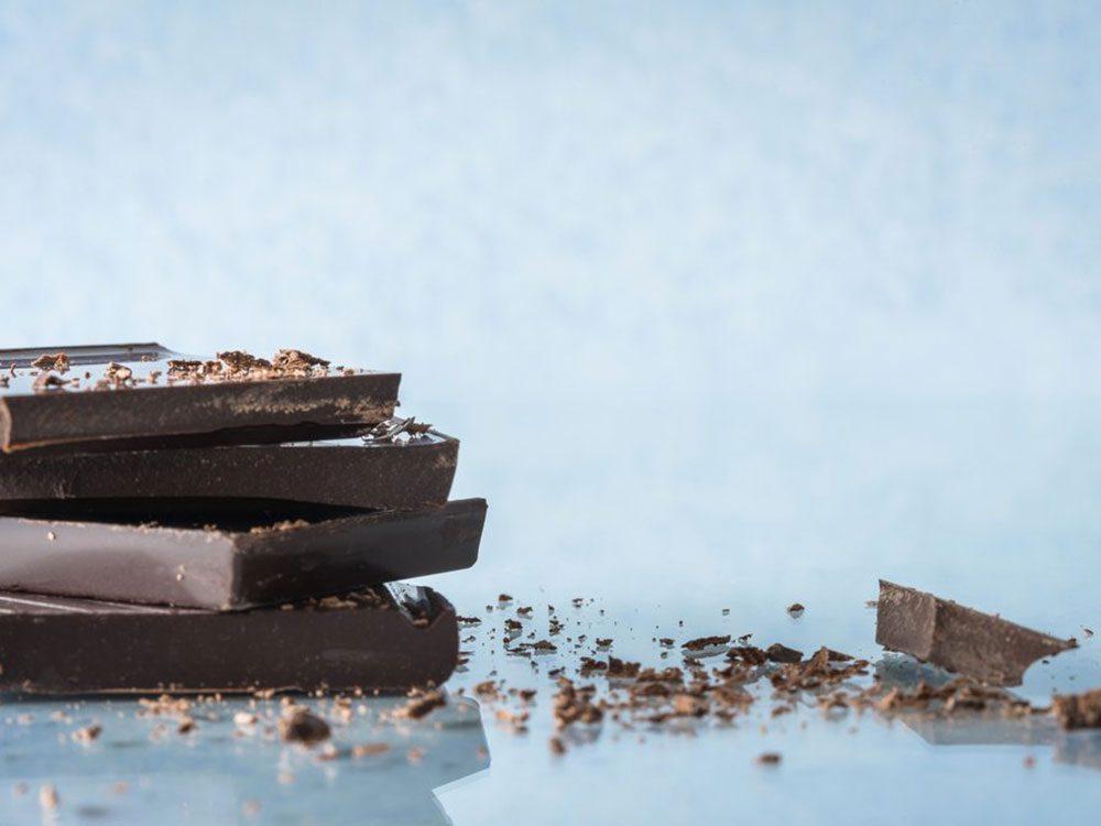 Le chocolat aiderait à perdre du poids.