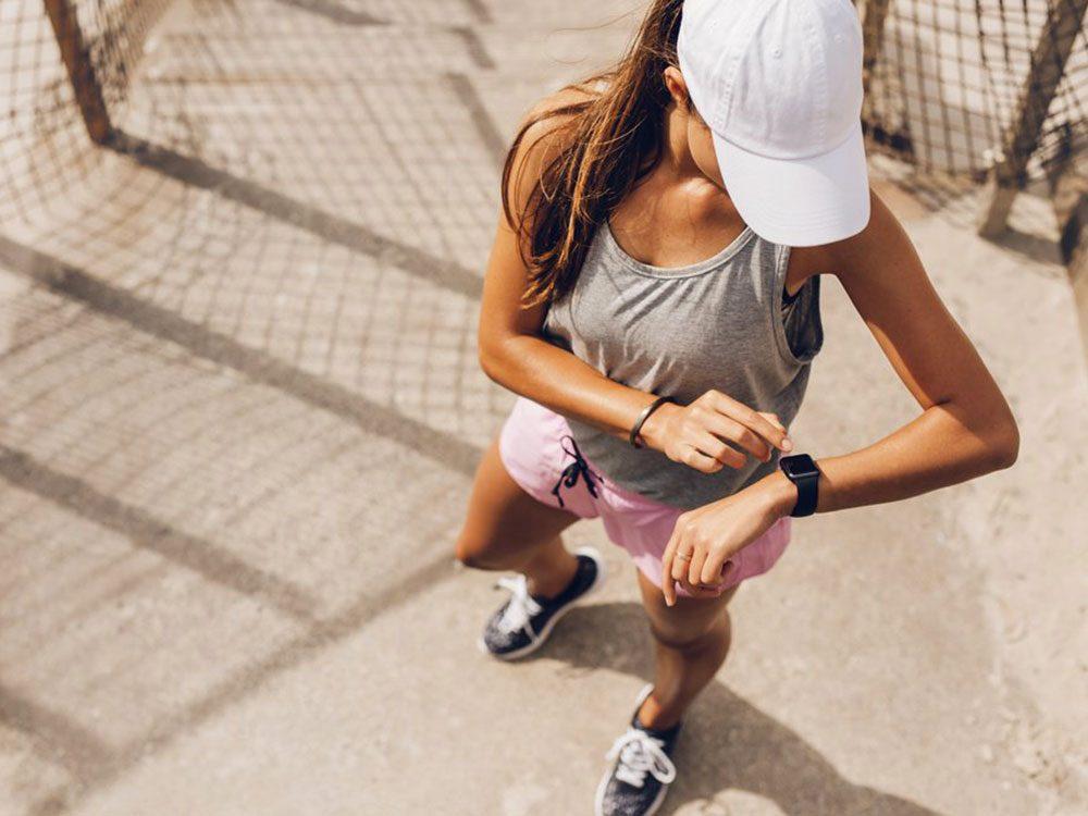 Sur le plan physique, mieux vaut perdre du poids rapidement.