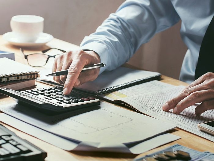 N'hésitez pas à demander de l'aide à un planificateur financier.