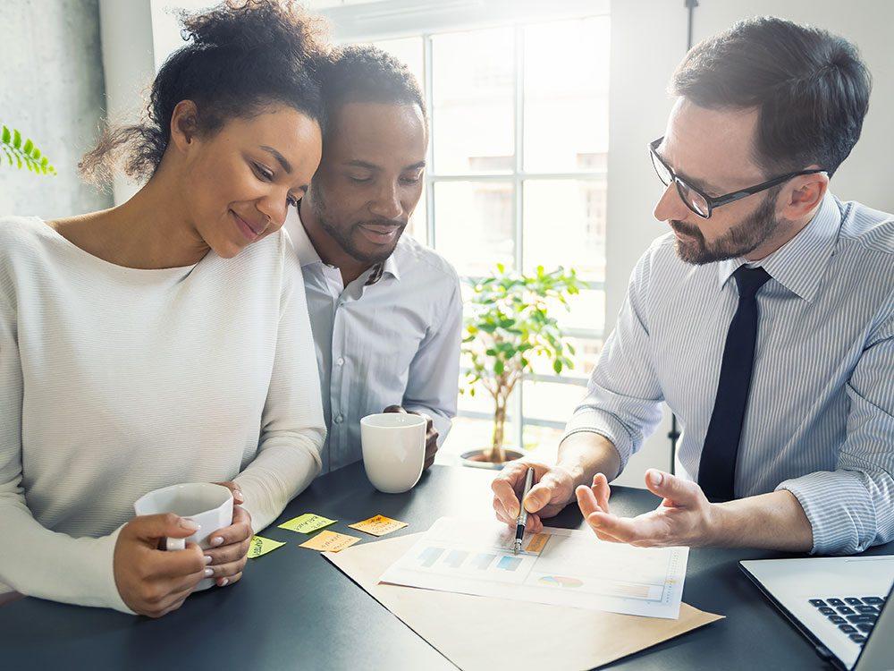 Un planificateur financier doit être le plus clair possible.