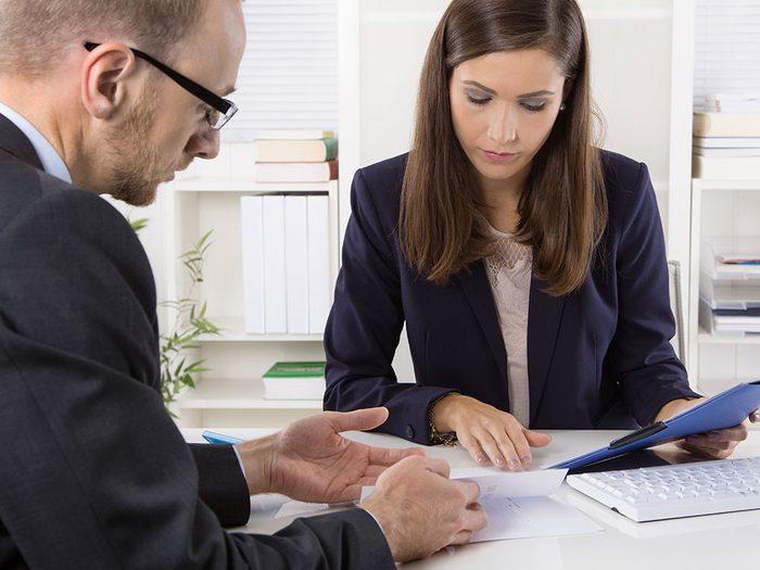 Ne cachez rien à votre planificateur financier pour être mieux conseillé.