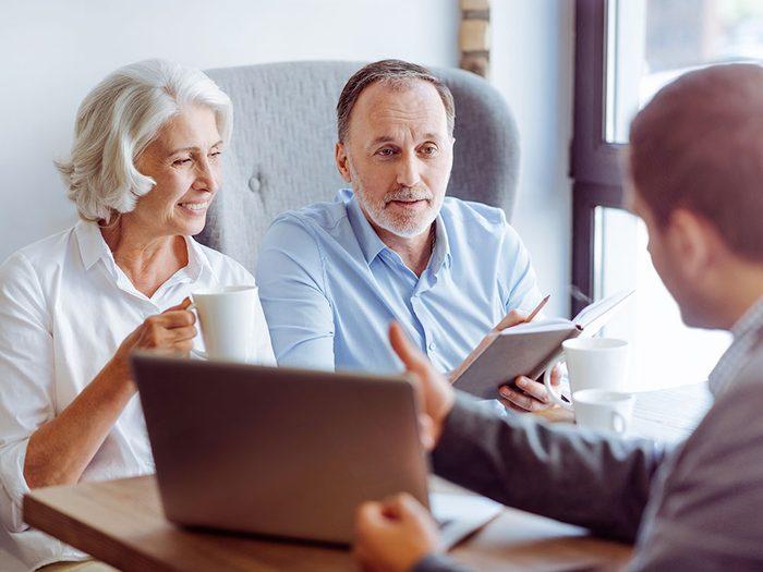 Faire une planification financière permettrait de multiplier par deux vos chances d'avoir assez d'argent à la retraite.