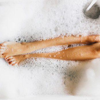 Un bain chaud pour un bon sommeil