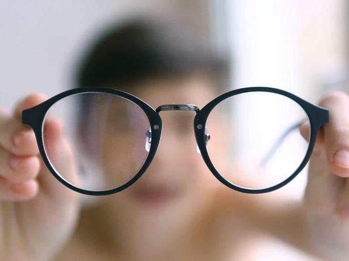 Santé des yeux: vision floue.