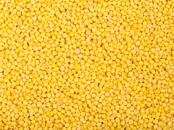 Les spécialistes de la thyroïde évitent le millet et le manioc.