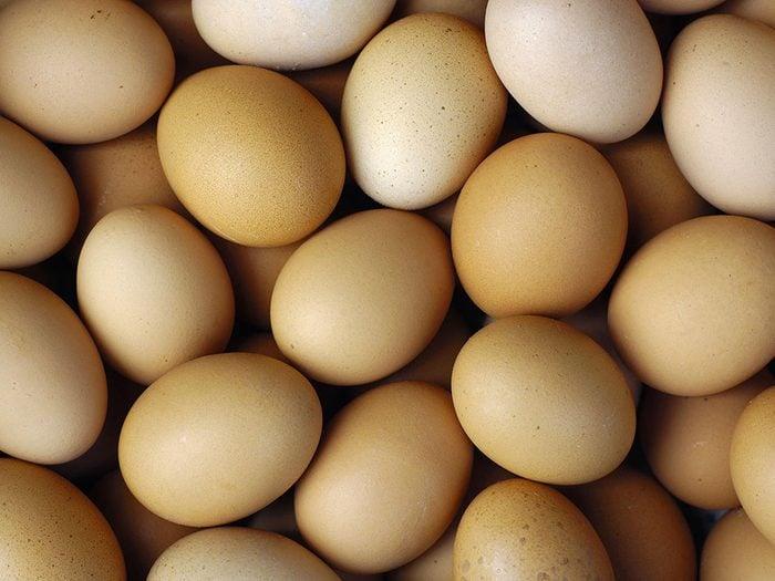 Les spécialistes de la thyroïde évitent les œufs.