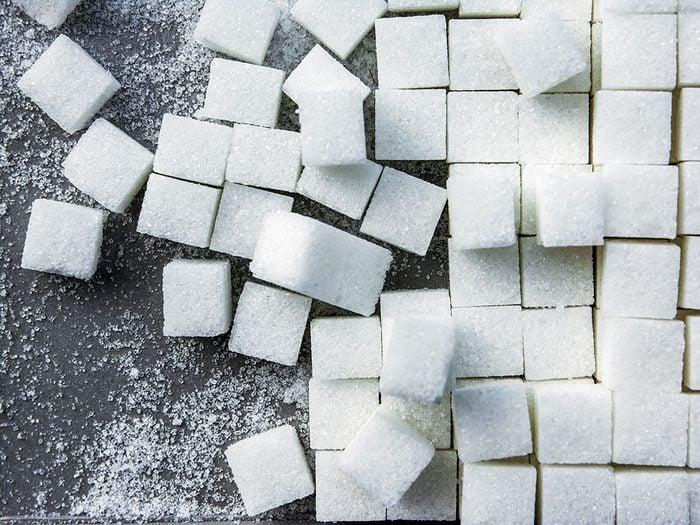 Les spécialistes de la thyroïde évitent le sucre.