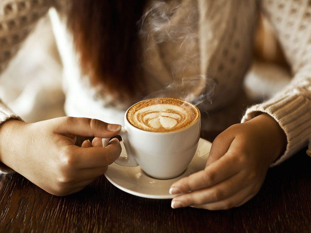 Buvez du café pour vivre jusqu'à 100 ans.