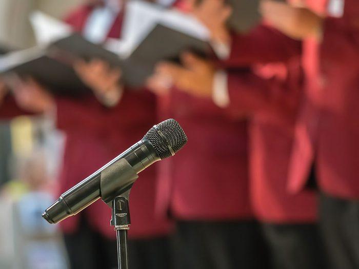 Joignez-vous à une chorale pour vivre jusqu'à 100 ans.