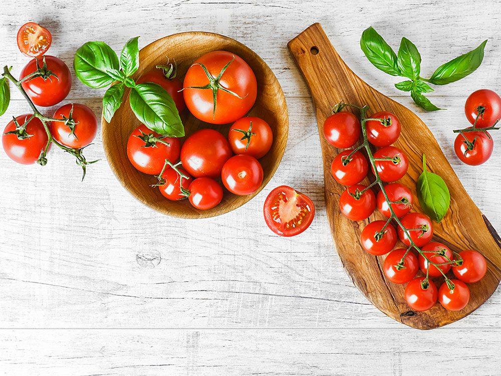 Mangez des tomates pour vivre jusqu'à 100 ans.