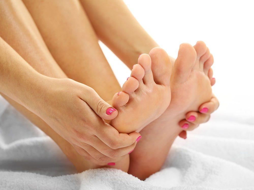 Soignez vos pieds pour vivre jusqu'à 100 ans.