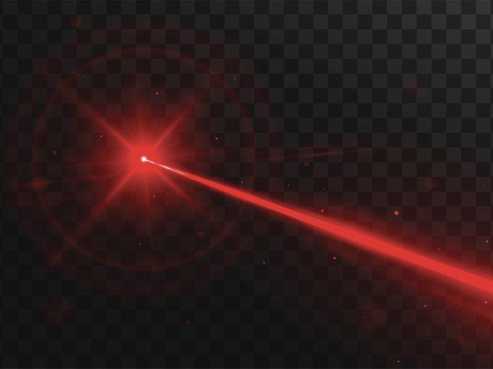 James Bond été menacé par un laser.