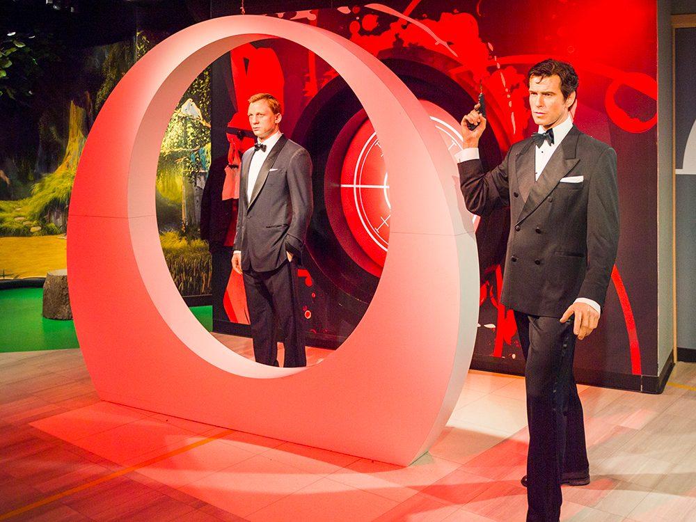 Depuis le premier film, James Bond a tué de ses mains entre 150 et 200 hommes.