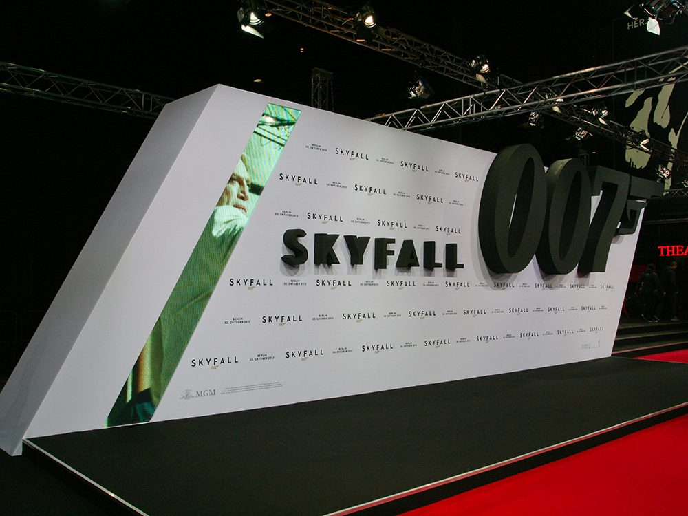 En comptant Skyfall, il existe 23 films de James Bond.