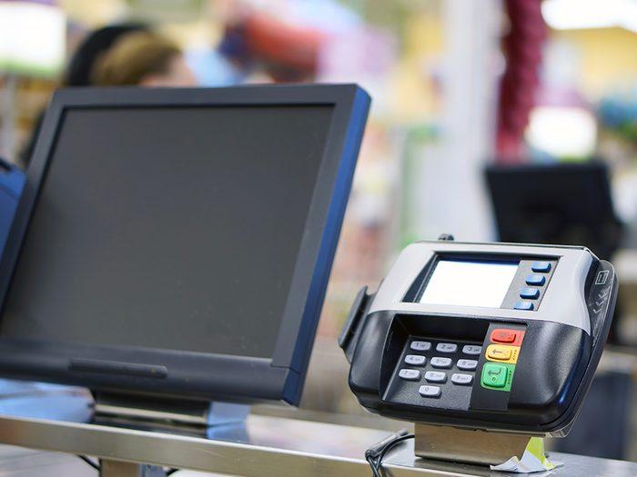 Supermarchés et insalubrité: attention à la zone des caisses!