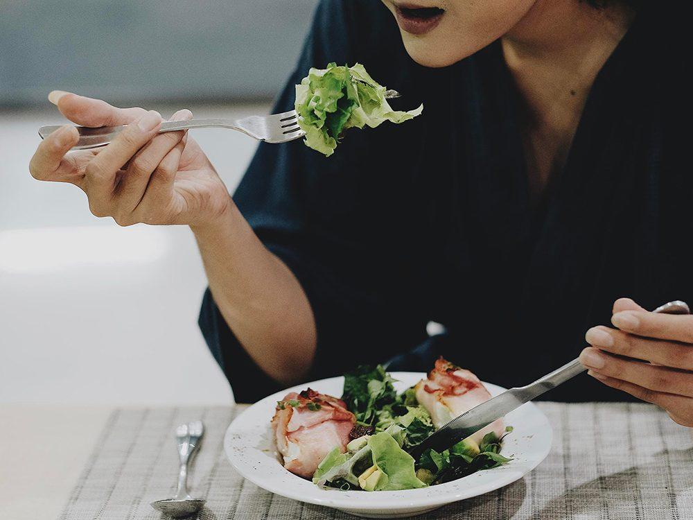Une alimentation non équilibrée joue sur l'anxiété.