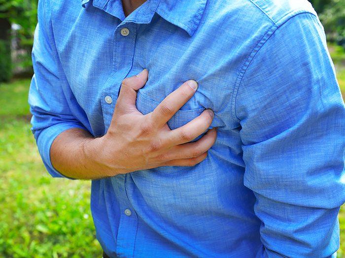 Soyez à l'affût des signes de brûlures d'estomac.