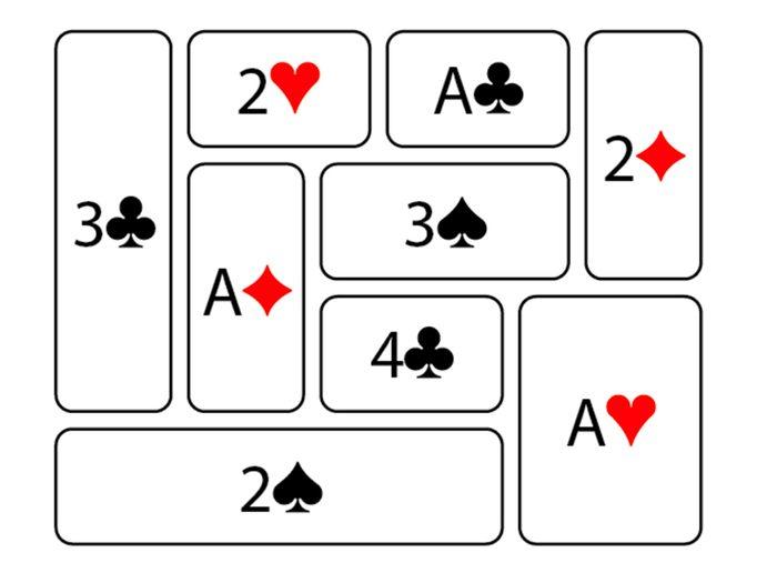 Jeu pour stimuler votre cerveau: jeu de cartes, réponses.