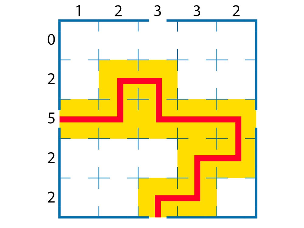 Jeu pour stimuler votre cerveau: labyrinthe, réponses.