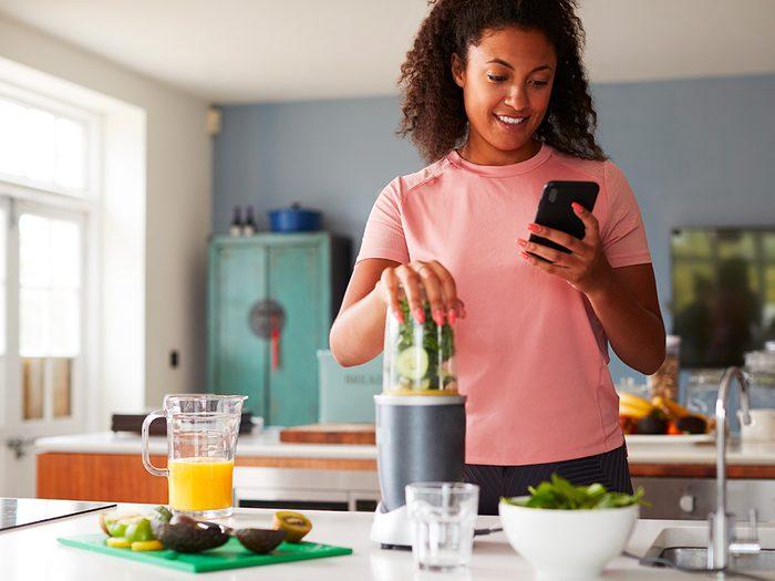Compter les calories peut vous aider à savoir plus précisément ce que vous mangez.