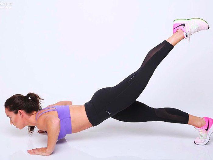 Évitez les exercices de redressement assis partiel.