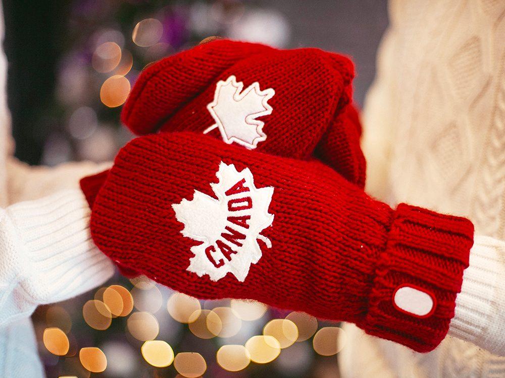 Un hiver canadien.
