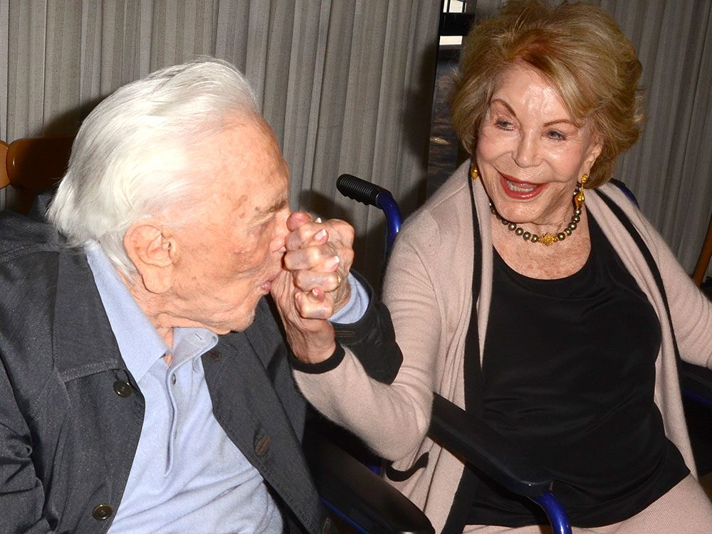 Anne et Kirk Douglas ont partagé 47 ans de mariage.