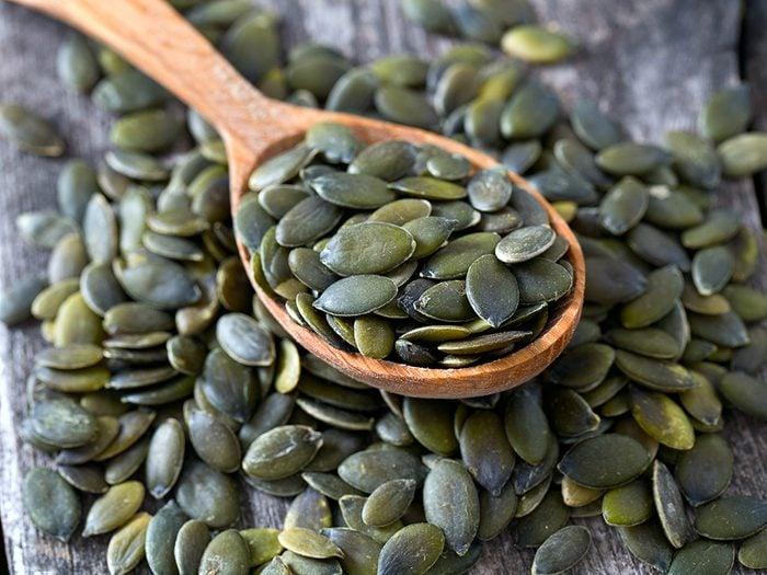 Mangez des graines de citrouilles pour bien dormir et devenir un lève-tôt!