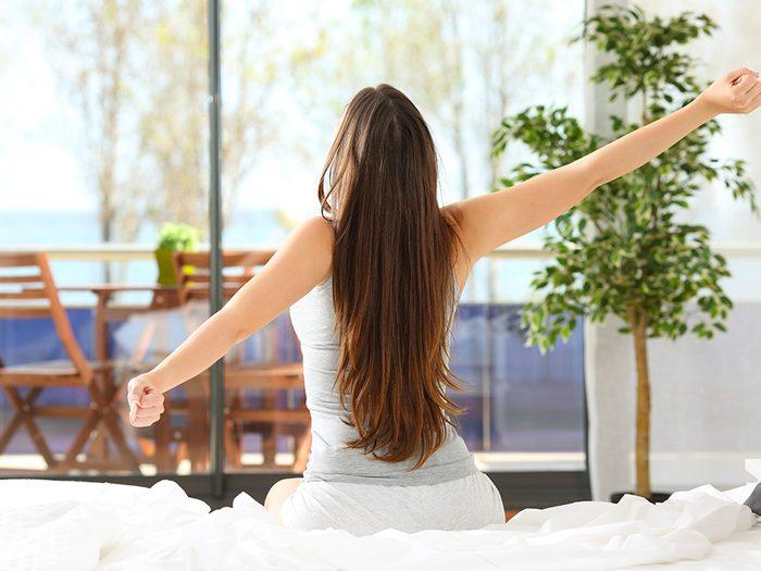 Être un lève-tôt c'est aussi profiter des bienfaits de la lumière.