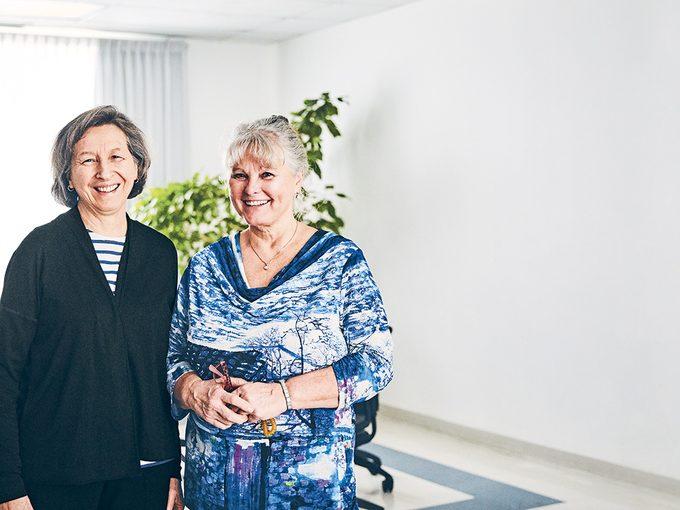 Léonie Couture et Jocelyne Lafleur aident les plus démunies grâce à la création de refuges pour femmes.