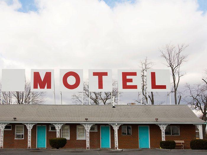 Secrets d'hôtels: une chambre louée à l'heure, ce n'est pas bon signe.