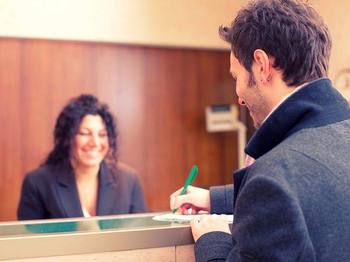 Secrets d'hôtels: n'espérez pas de rabais s'il s'agit d'une chaîne d'hôtels.