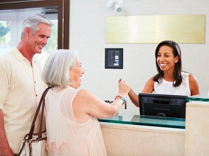 Secrets d'hôtels: gardez la facture du wi-fi pour la fin.