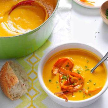 Bisque carottes et panais