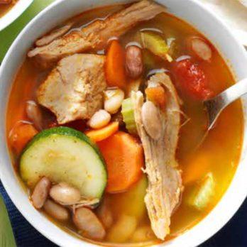 Ragoût mexicain au porc et fèves pinto