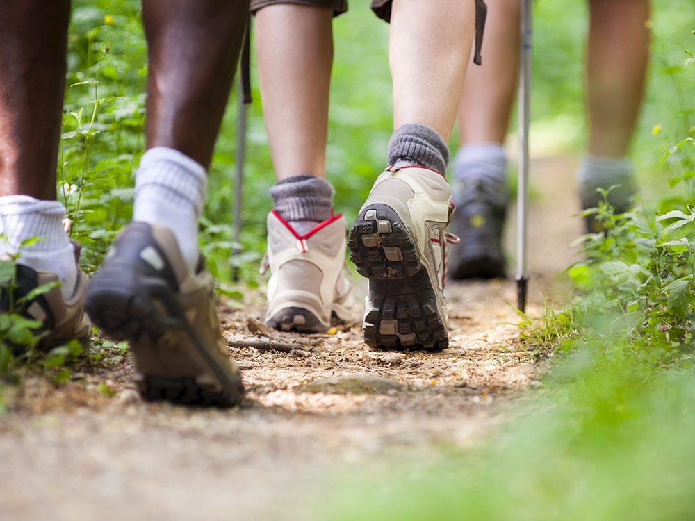 Sport en couple: l'attrait pour les autres peut être encore plus grand lorsque l'on fait une activité qui nécessite de synchroniser ses mouvements, comme la danse ou la marche.