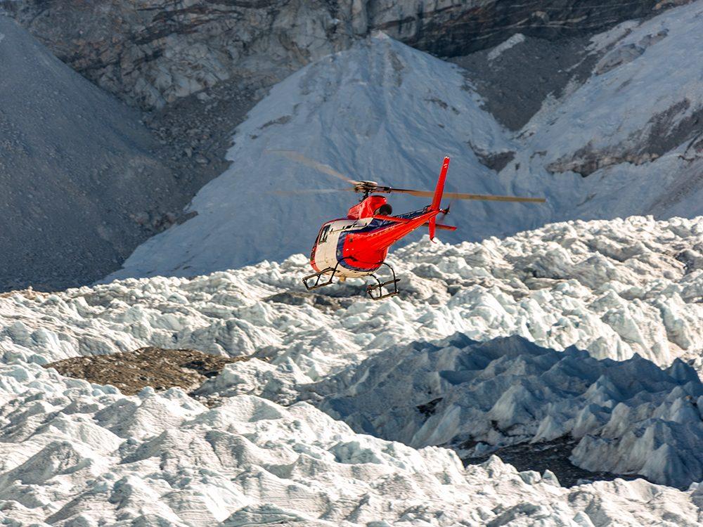L'opération de sauvetage a pu commencer quelques minutes après l'avalanche.