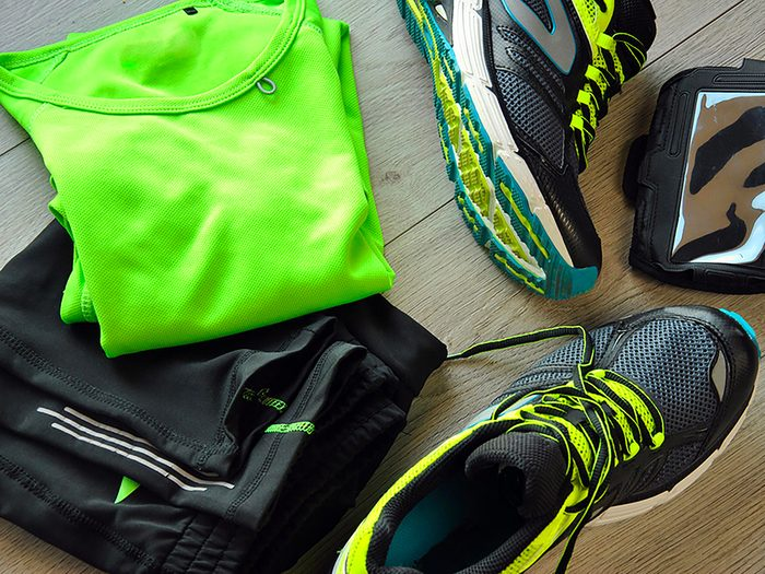 Vos vêtements de gym sont des nids à bactéries!