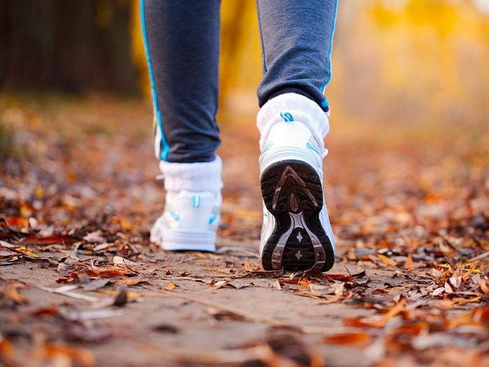 Vos chaussures sont des nids à bactéries!