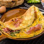 Omelette au four