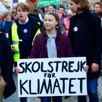 Changements climatiques: les jeunes sauveront la planète