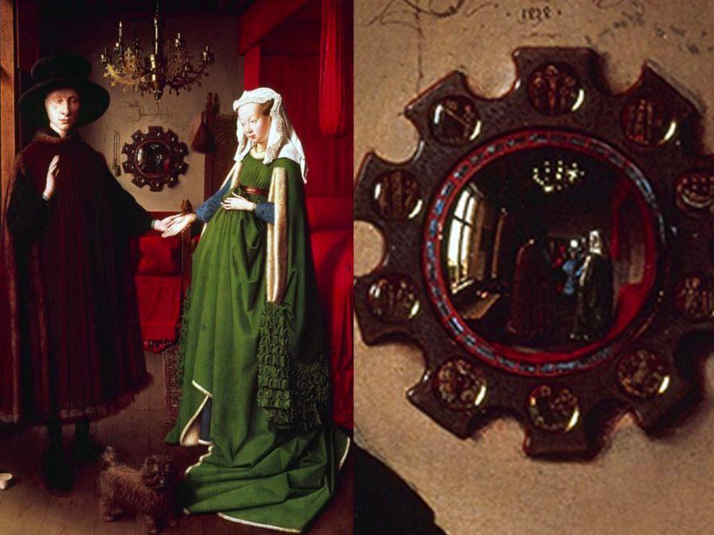 Les chefs-d'œuvre de la peinture: les époux Arnolfini.