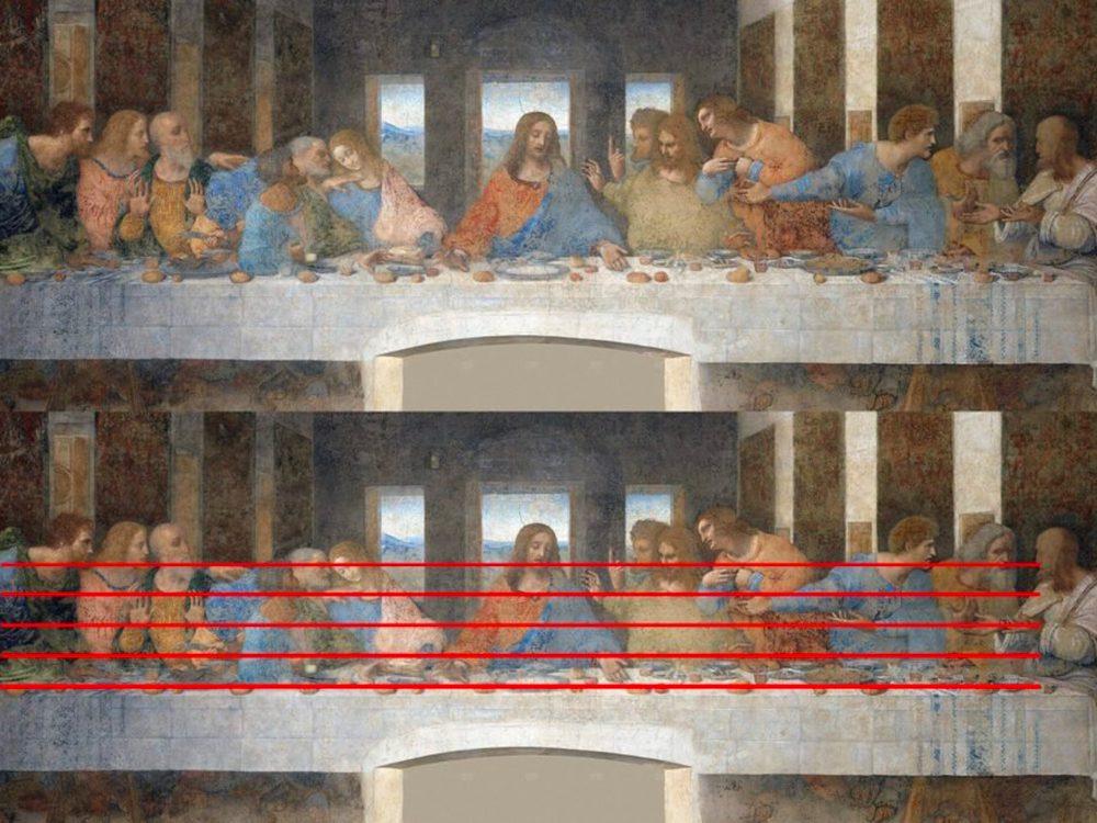 Les chefs-d'œuvre de la peinture: La Cène.