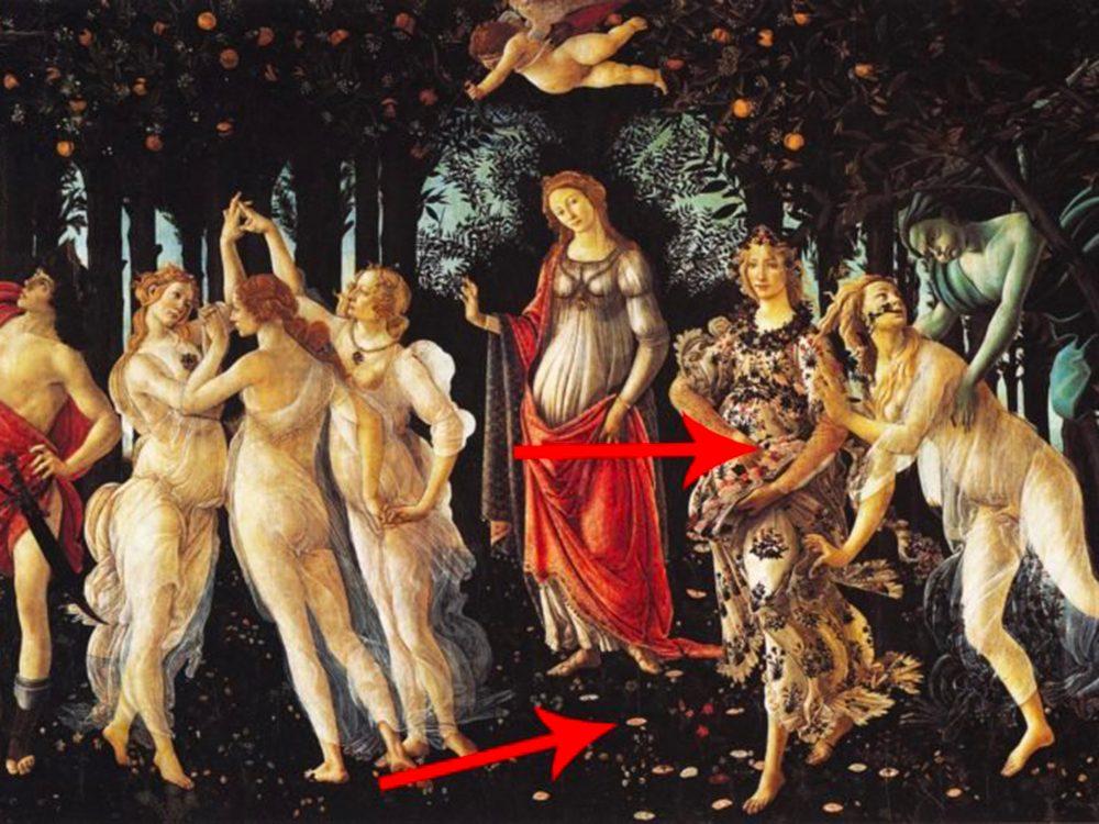 Les chefs-d'œuvre de la peinture: Naissance de Vénus.