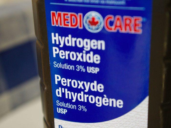 Utiliser du peroxyde d'hydrogène contre le Coronavirus.
