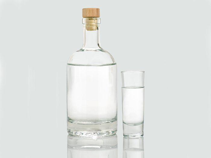 Éviter la vodka contre le Coronavirus.