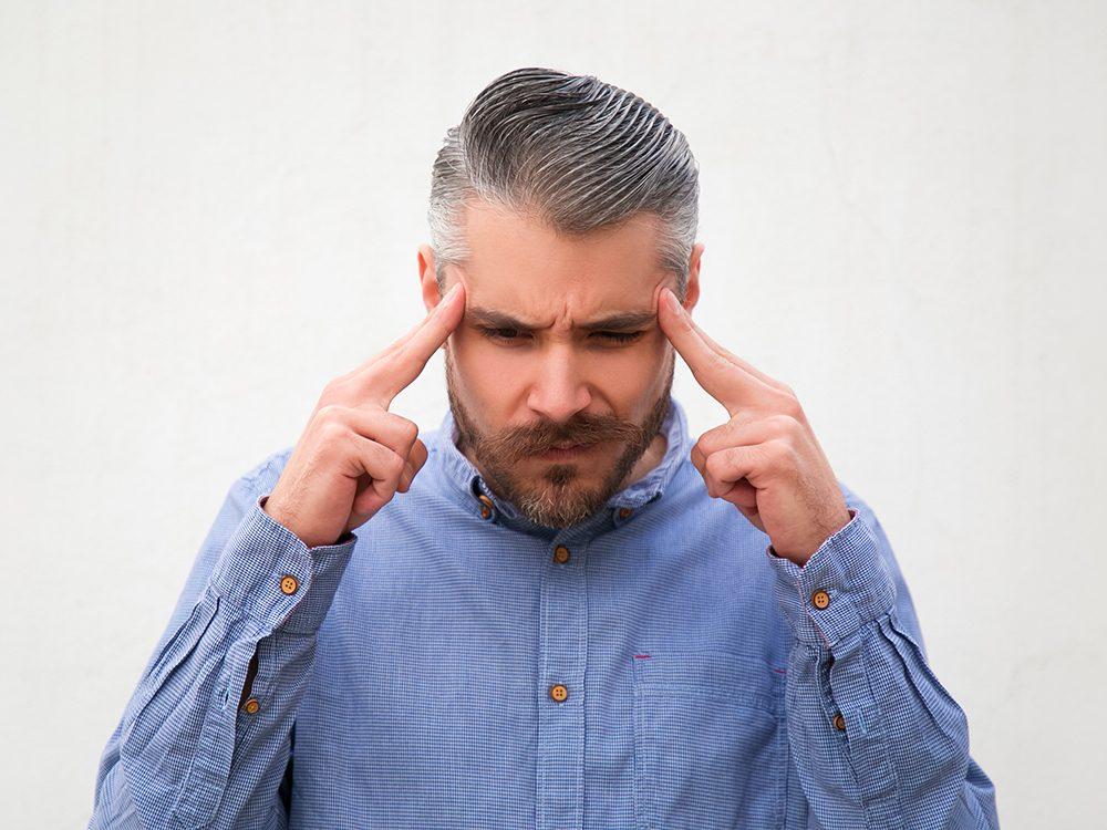 Ne touchez pas votre visage pour éviter le coronavirus.
