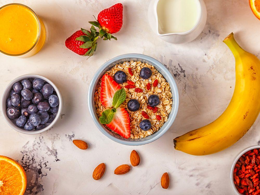Choisir les bonnes céréalespour un déjeuner riche en protéines.